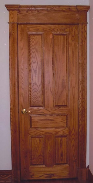 1u201d carpet clearance is allowed on all doors unless specified otherwise. Doors are standard bore unless specified otherwise. & Jackson OH Hardwood Interior Doors: Cherry u0026 Oak Doors for Sale ...
