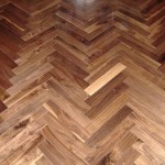 Custom Chevron Wooden Floors