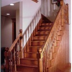 Custom Built Hardwood Stair Flooring